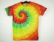 Dětské batikované tričko Happy, XL