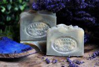 Přírodní mýdlo Ledová levandule