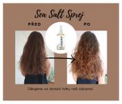 Přírodní sprej na vlasy SEA SALT - styling a péče