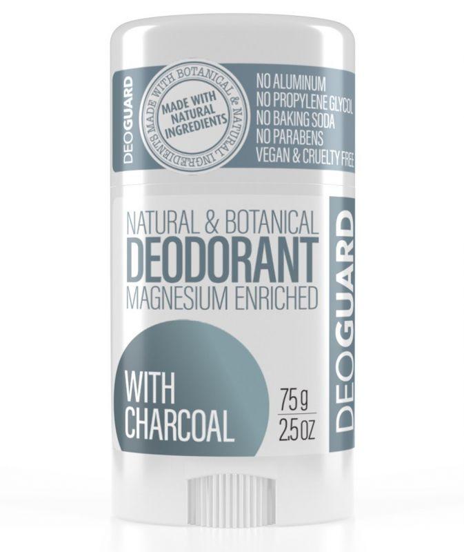 Přírodní tuhý deodorant s aktivním uhlím