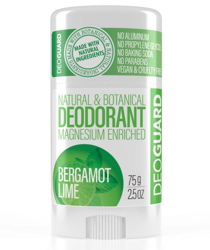 Tuhý deodorant přírodní Limetka