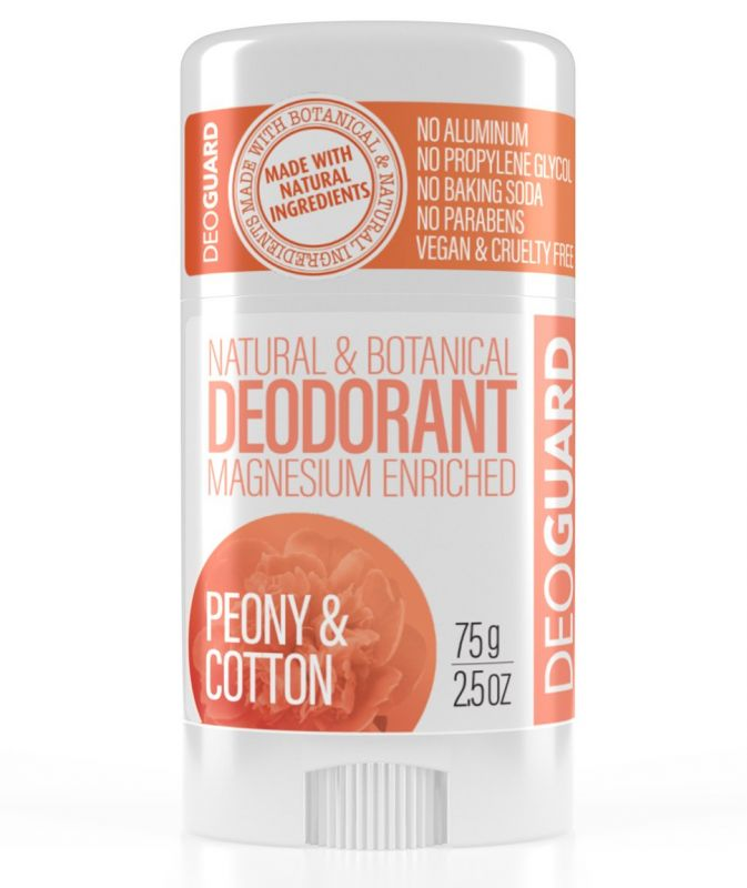 Tuhý deodorant přírodní bez chemie Pivoňka