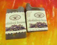 Čokoládová levandule - mýdlo vzorky