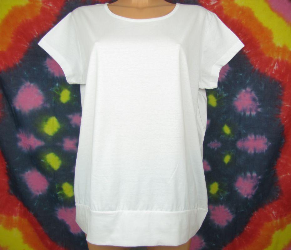 Dámská tunika, tričko bílé