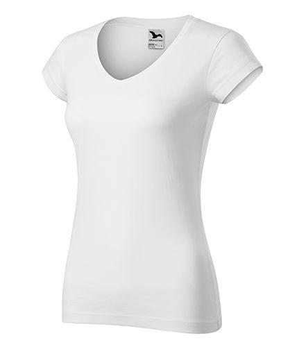 Kvalitní bílé tričko dámské véčko