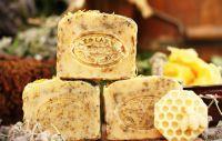 FARMÁŘSKÉ mýdlo s meduňkou a lanolínem, 100g