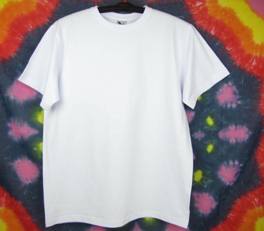 Kvalitní bílé tričko Vyšší gramáž delší