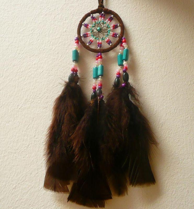 Lapač snů indiánský hnědý