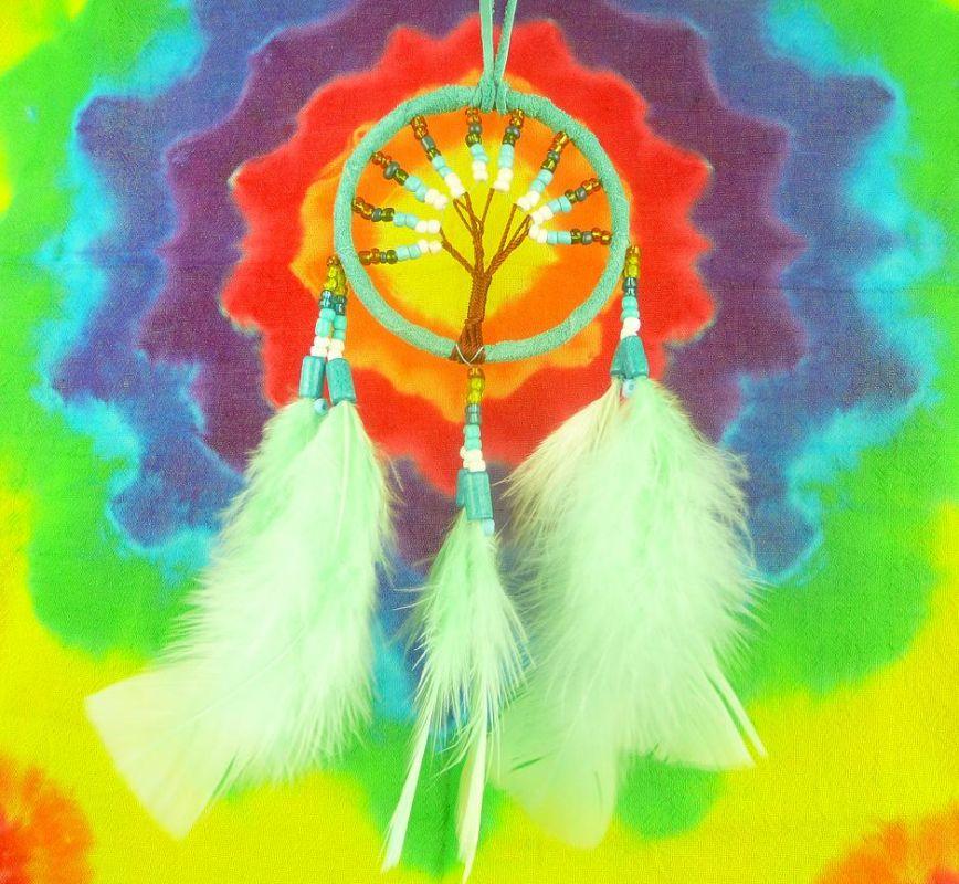 Lapač snů mentolový Strom života