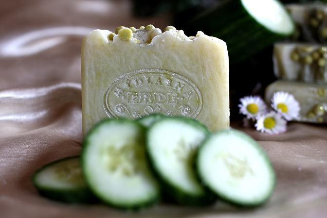 Okurkové mýdlo přírodní