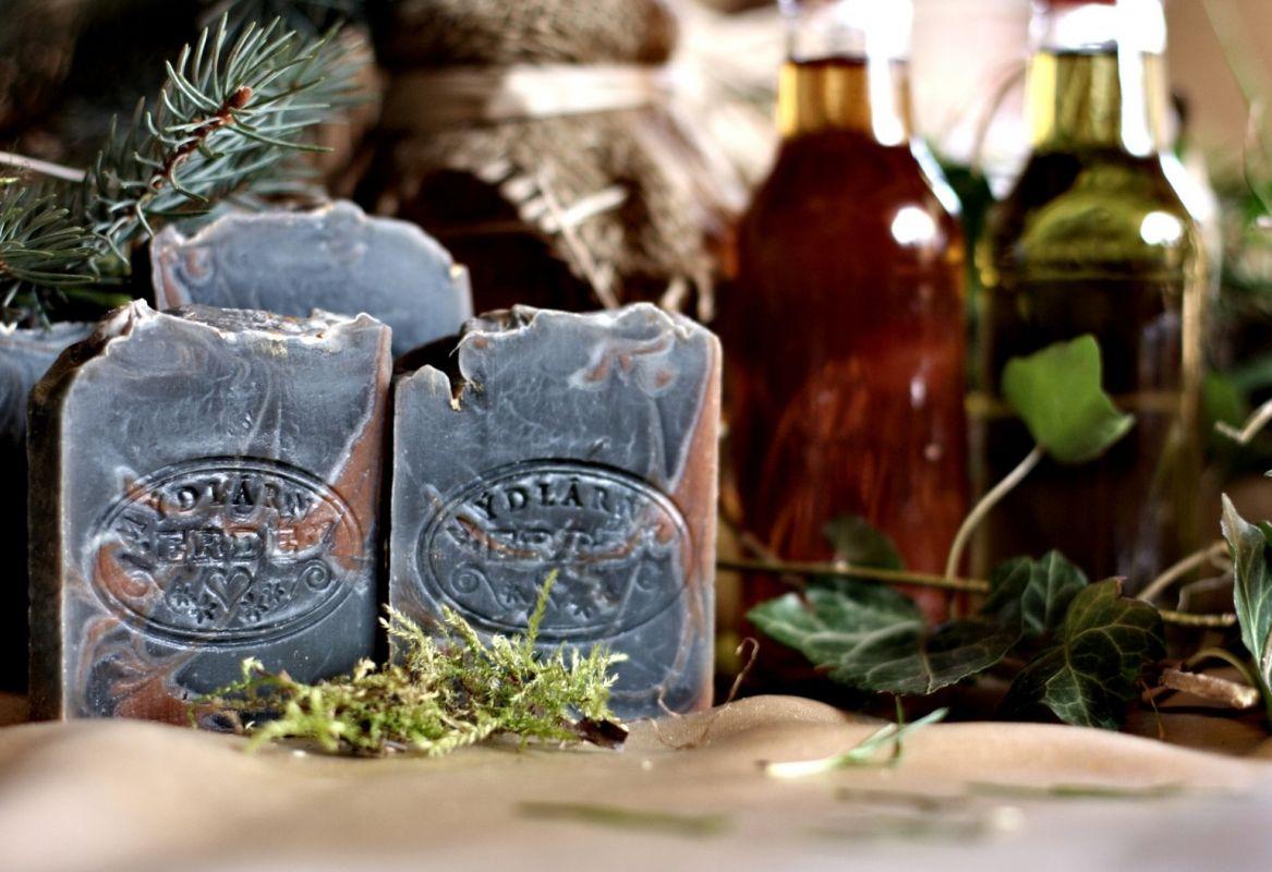 MUMIO hojivé mýdlo s pryskyřicí a bylinkami, 50g ERDÉ