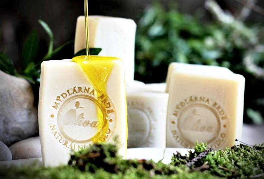 Oliva kozí mléko přírodní mýdlo