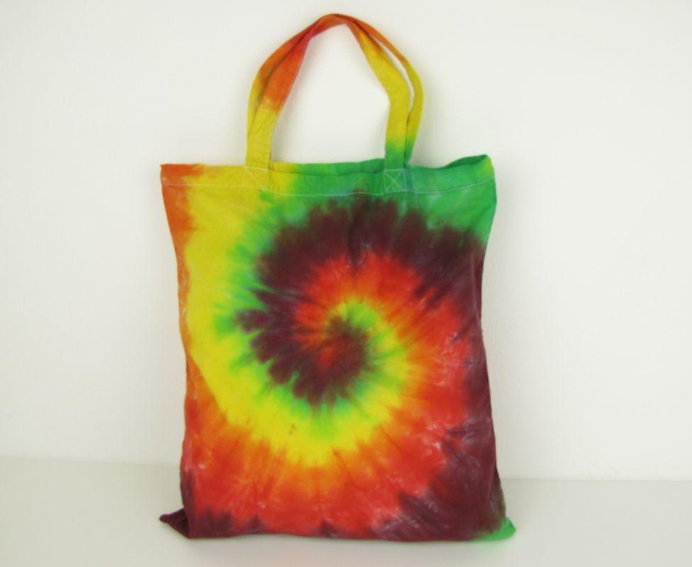 Látková taška batika Happy