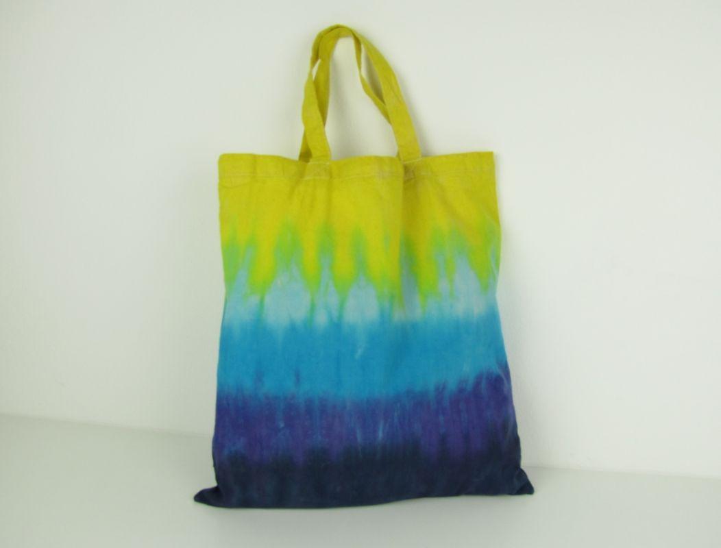 Látková nákupní taška batika Moře