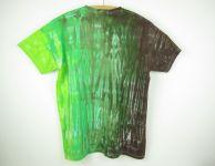 Batikované tričko 2XL Zelený strom