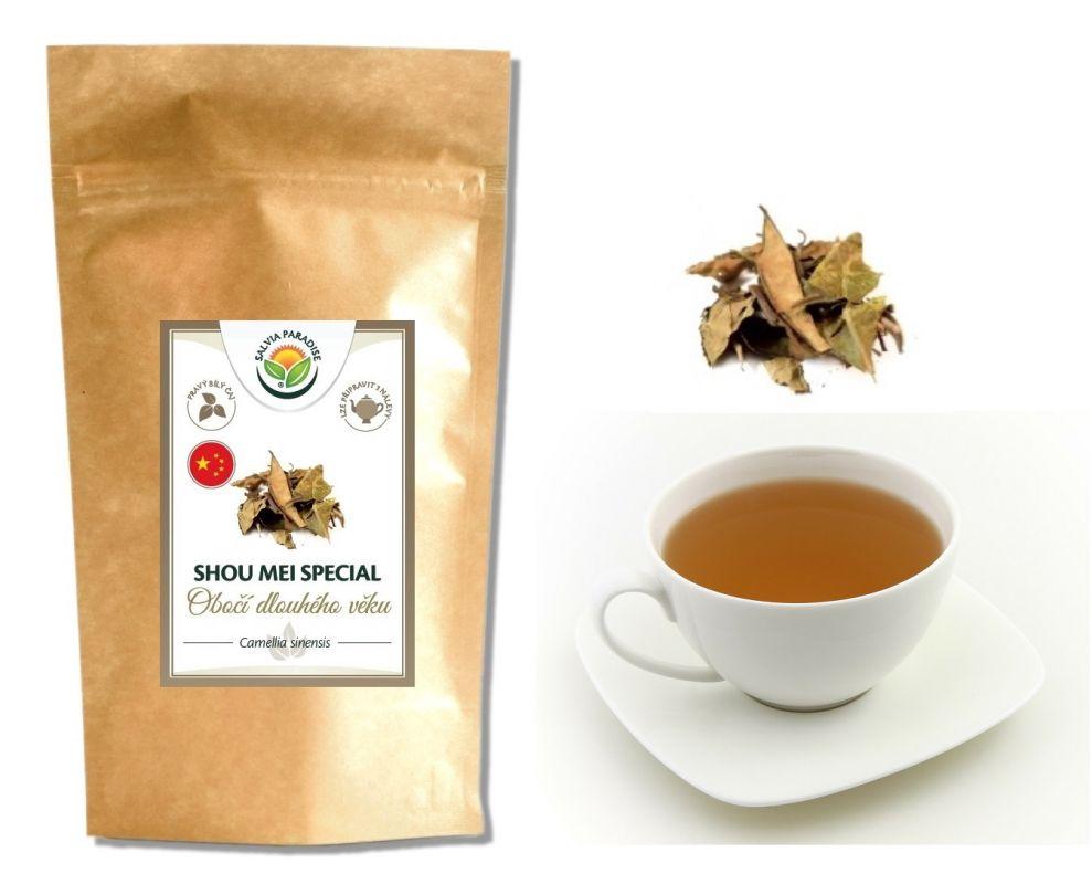 Bílý čaj Shou mei speciál