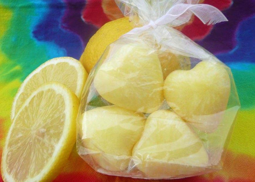 Citron - vůně - vonný vosk