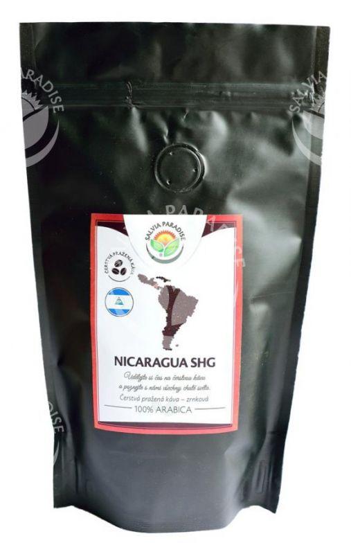 Káva zrnková kvalitní plantážní Nicaragua