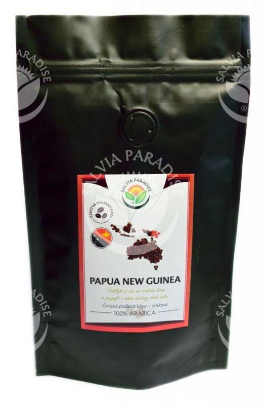 Káva kvalitní zrnková Papua nová guinea