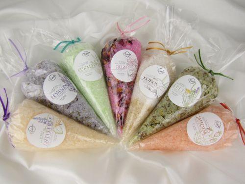 Koupelové soli dárkové balíčky