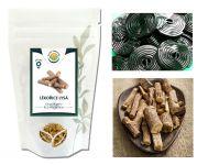 LÉKOŘICE drcený kořen - pro přípravu bylinného čaje, 50g