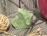 SVÍČKA KÁMEN Zelený vůně BOROVICE 6x6cm