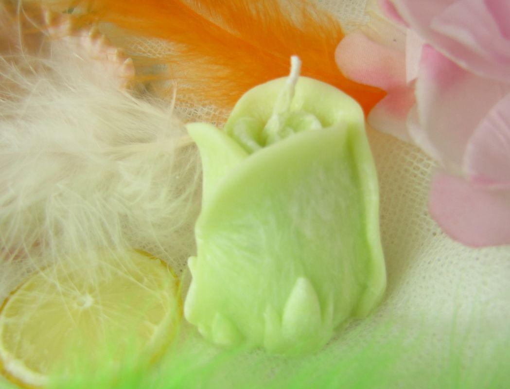 Svíčka vonná lemongrass růže