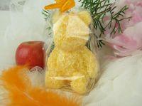 Svíčka medvídek žlutý
