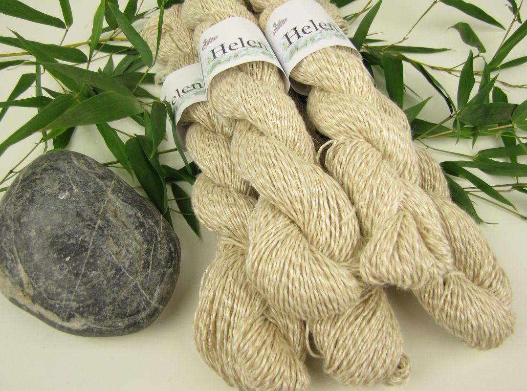 Ramie čínská tráva+bavlna+len příze