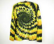 Batikované tričko Ohňostroj