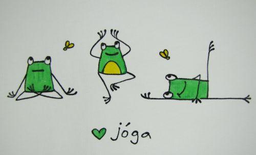cvičíme jógu tričko