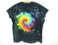Dámské batikované tričko Fénix 3XL