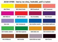 Barvy na hedvábí