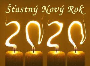 PF 2020 šťastný nový rok