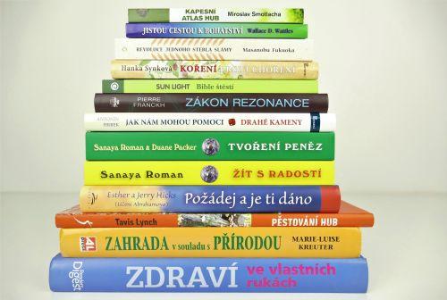 Knihy-láska-zdraví-štěstí-peníze-zahrada-chovatelstí-psychologie-duchovno
