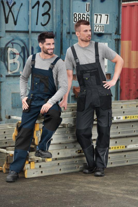 Kvalitní pracovní kalhoty montérky s laclem Ranger