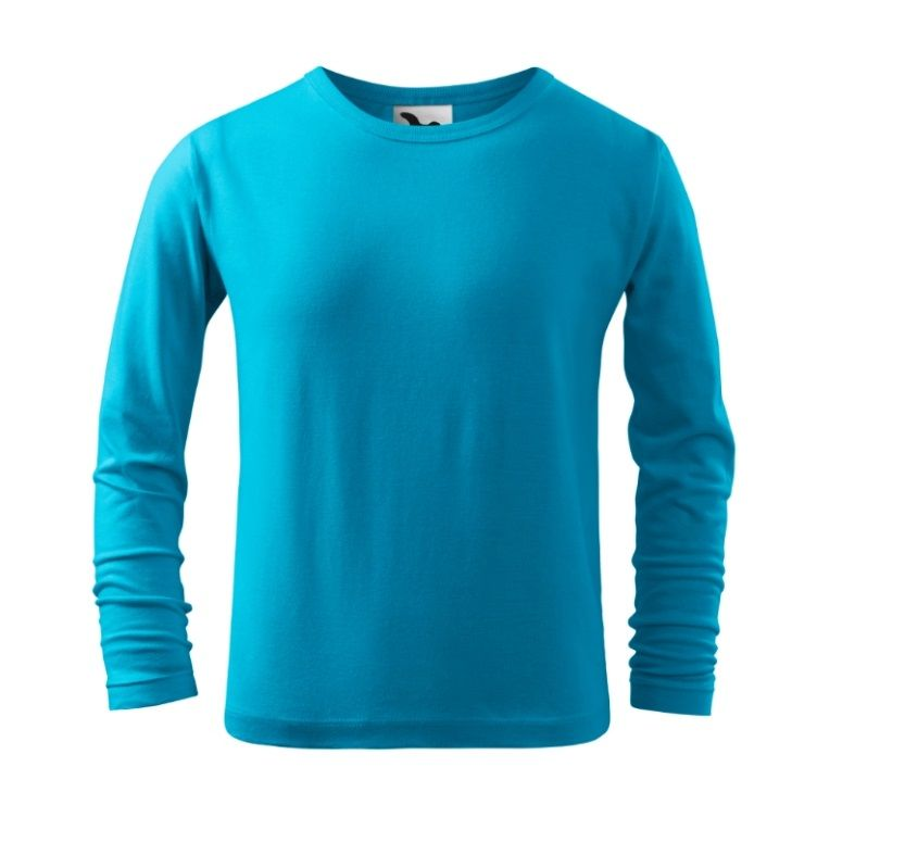 DĚTSKÉ tričko dlouhý rukáv RŮZNÉ BARVY Malfini