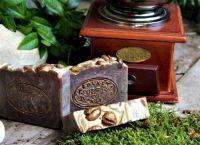 Káva a kakao přírodní mýdlo