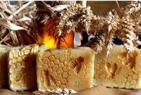 MED+VČELÍ VOSK+MĚSÍČEK hojivé přírodní mýdlo, 100g ERDÉ