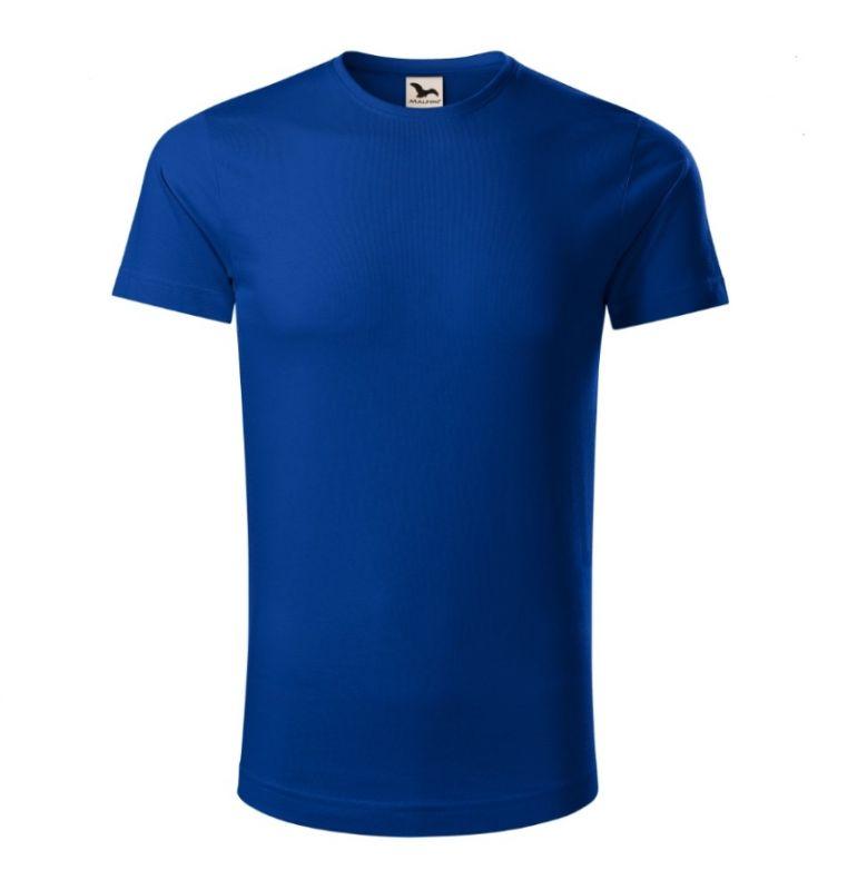 Tričko pánské Organická bavlna - RŮZNÉ BARVY - Královská modrá L Adler