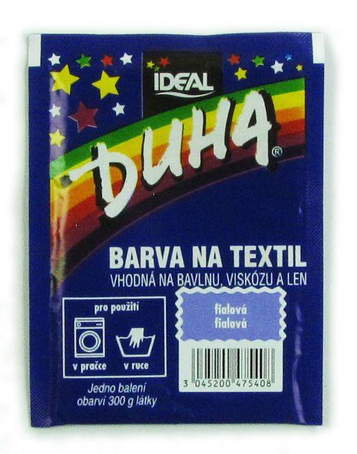 Barva Duha na textil - Fialová