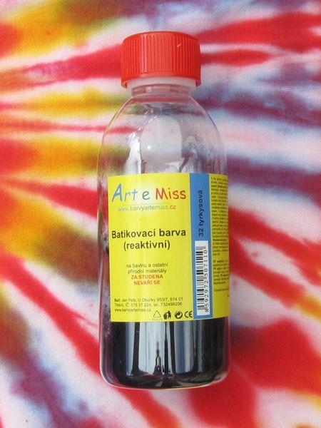 Barva na batikování za studena Artemiss 32 tyrkysová