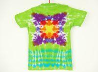 Dětské batikované tričko Mandala