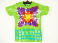 Dětské batikované tričko MANDALA, S