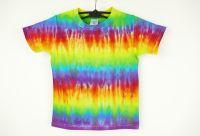 Dětské duhové tričko DOUBLE RAINBOW, XS