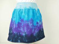 Suknička sportovní batika modrá