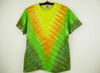 Batikované tričko ZELENÉ VÉČKO, XL