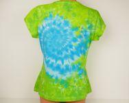 Dámské batikované tričko Chrpa