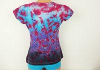Dámské batikované tričko Magic night