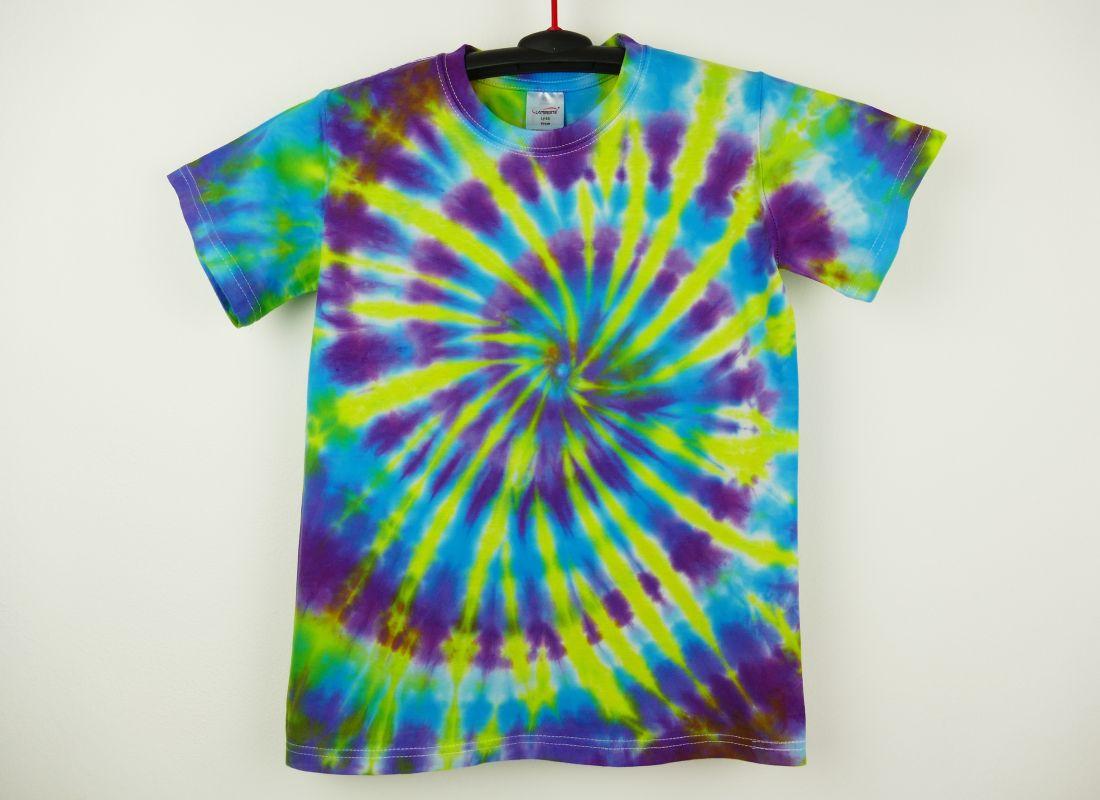 Dětské batikované tričko